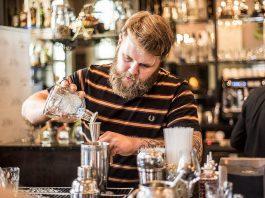 Jo wild-making Spirit of Sustainability cocktail